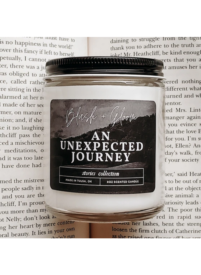 An Unexpected Journey Candle