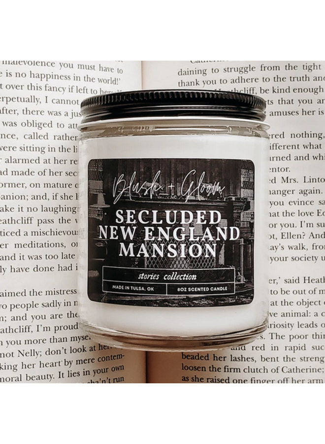 Secluded New England Mansion Candle