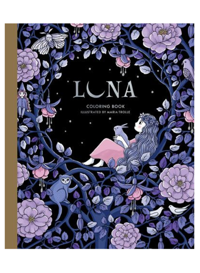 Luna Coloring Book