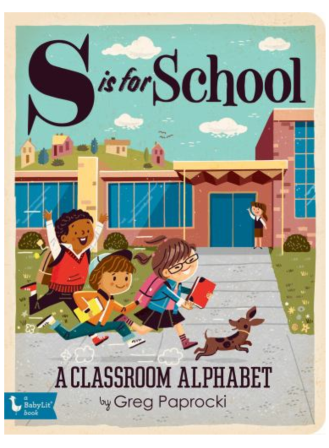 S is for School Book