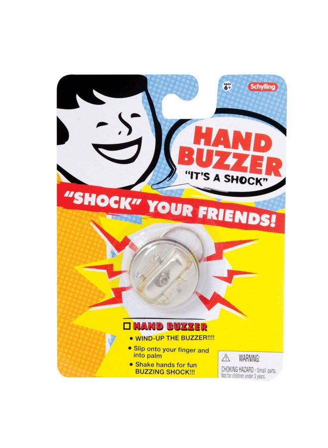 "Hand Buzzer ""Shock Your Friends"""