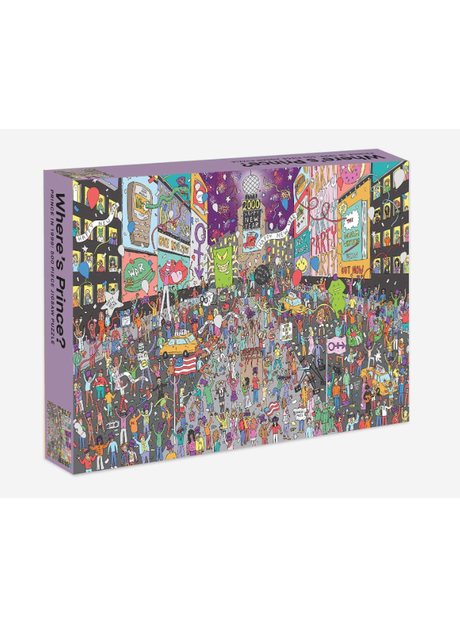 Where's Prince Puzzle