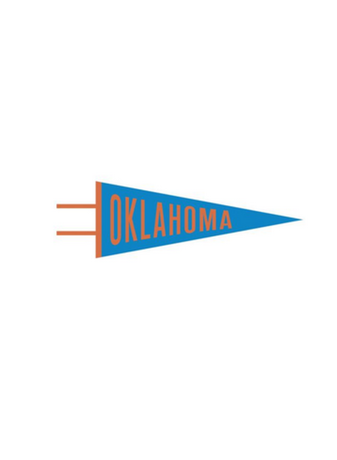 Oklahoma Pennant