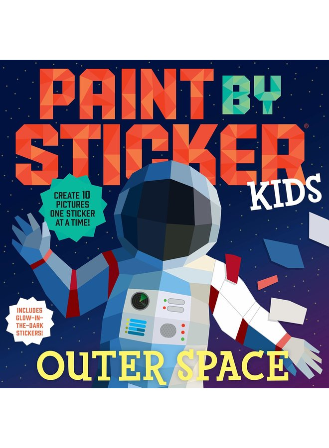 Paint By Stickers - Outer Space
