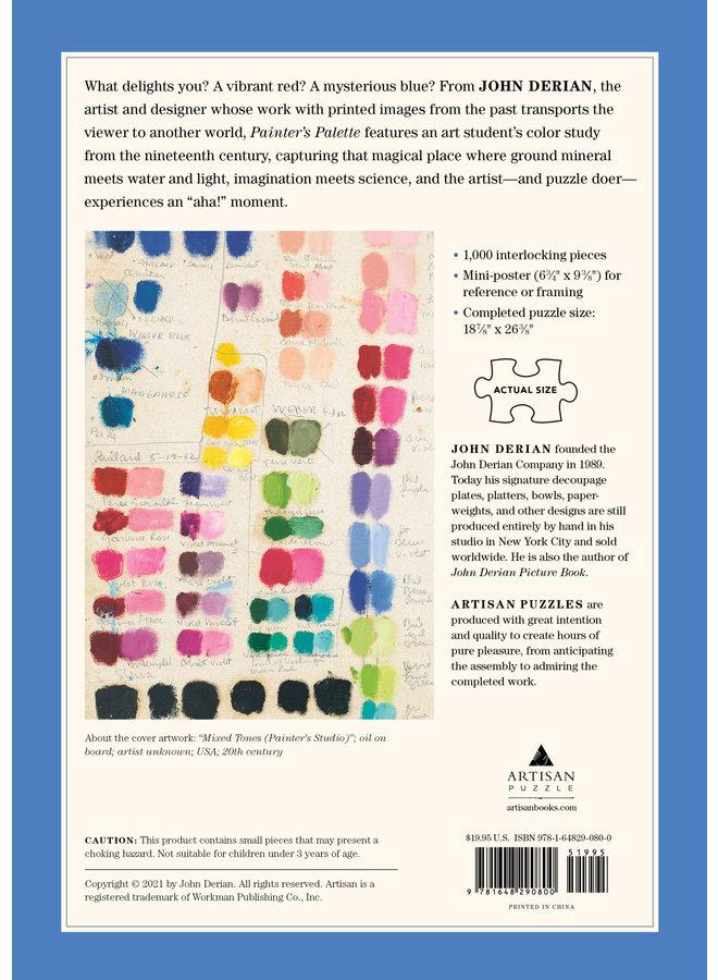 Painter's Palette 1000 Pc Puzzle