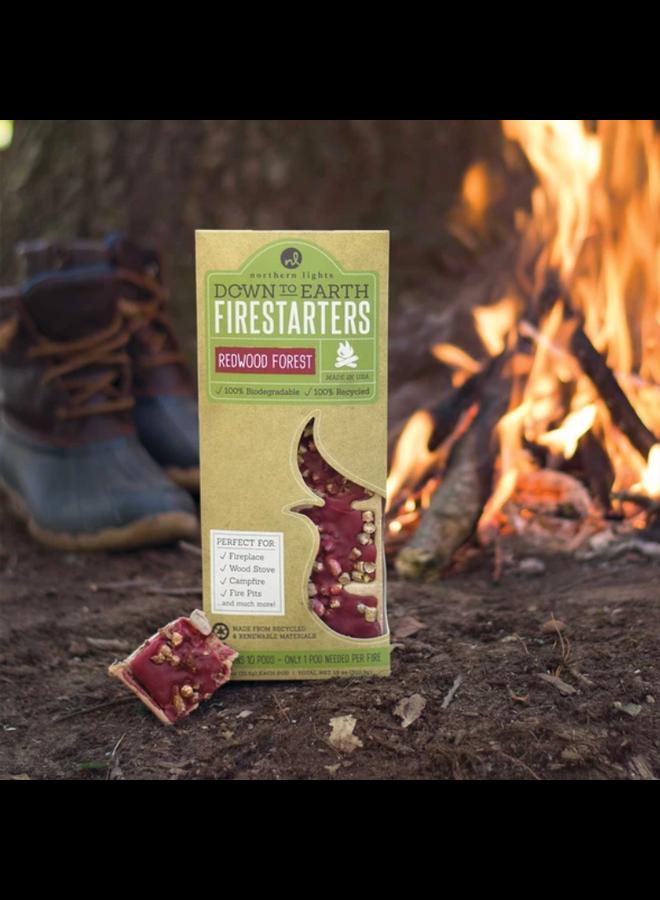 Down to Earth Firestarter Redwood Forest