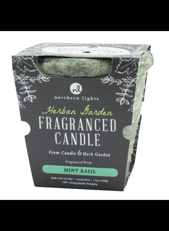 Herban Garden Candle Mint Basil