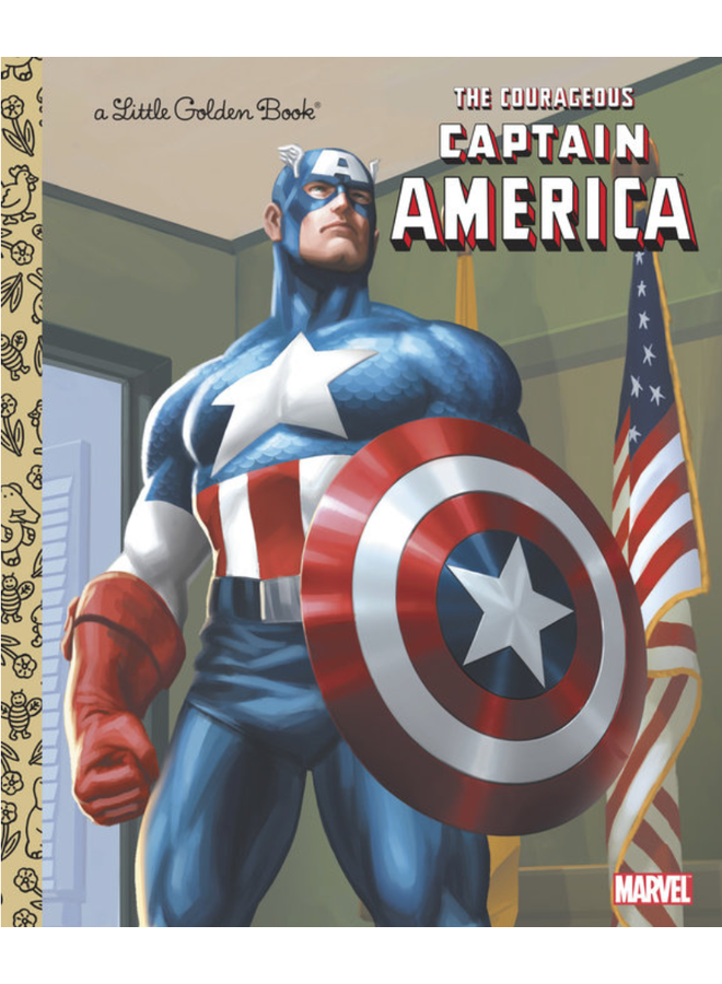 Courageous Captain America LGB