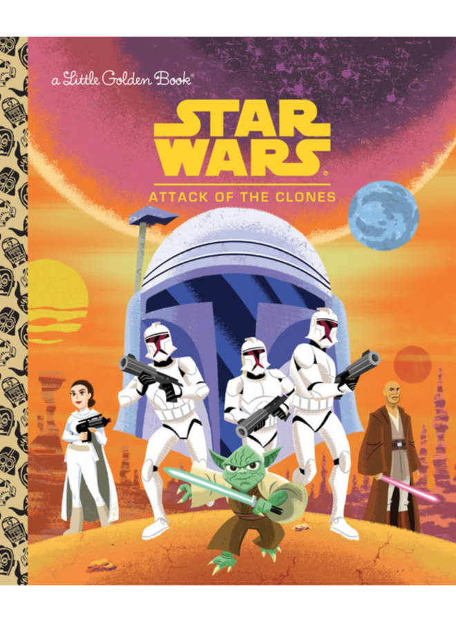 Star Wars Attack of the Clones Little Golden Book
