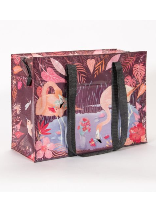 Flamingo Shoulder Tote