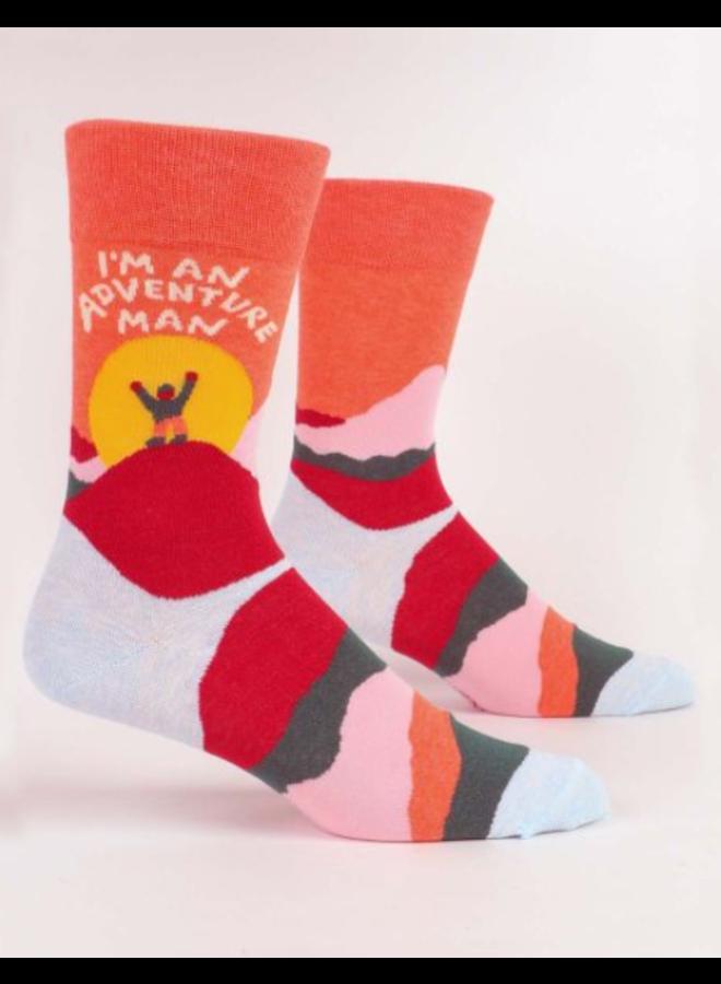 Adventure Man Men's Socks