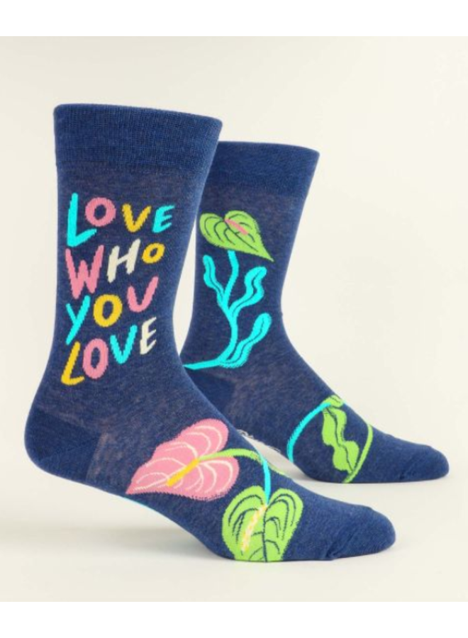 Love Who You Love Men's Socks