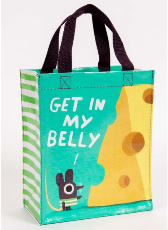 Get In My Belly Hand Tote