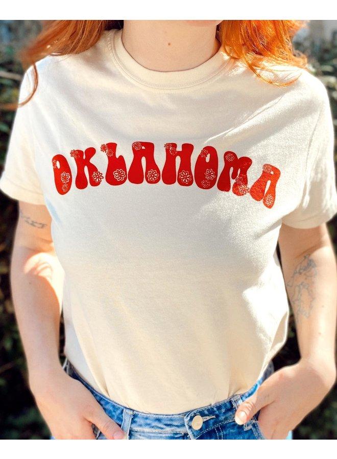 Oklahoma Flower Tshirt