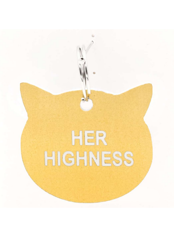Her Highness Cat Tag