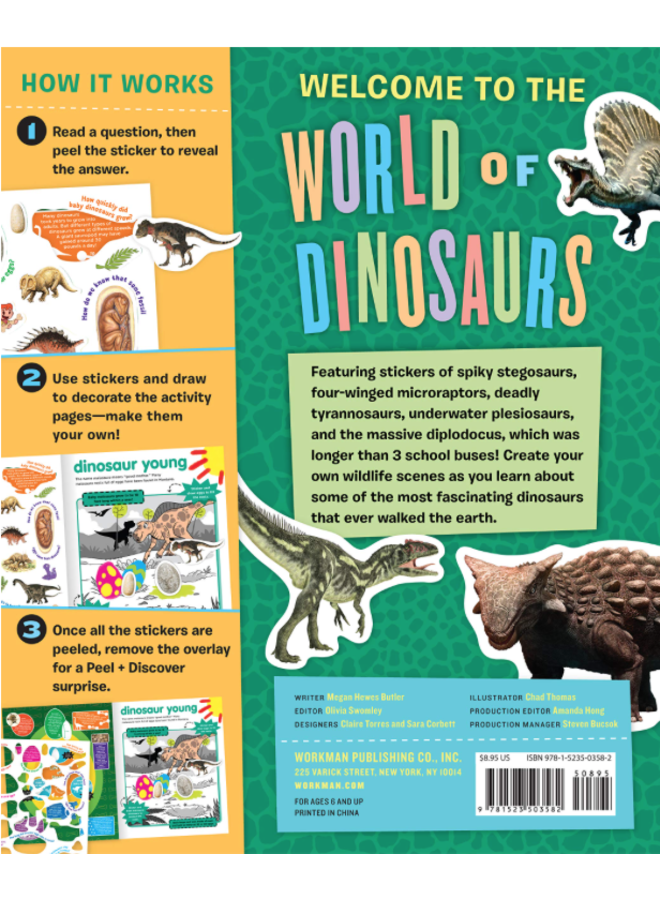 Peel + Discover: Dinosaurs