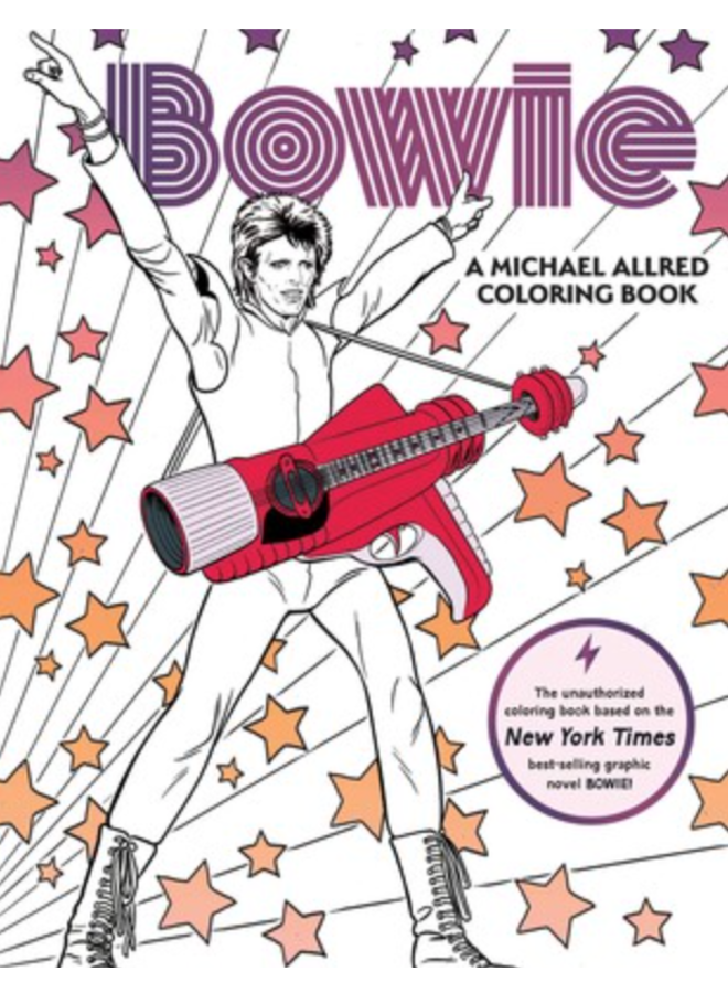 Bowie Coloring Book
