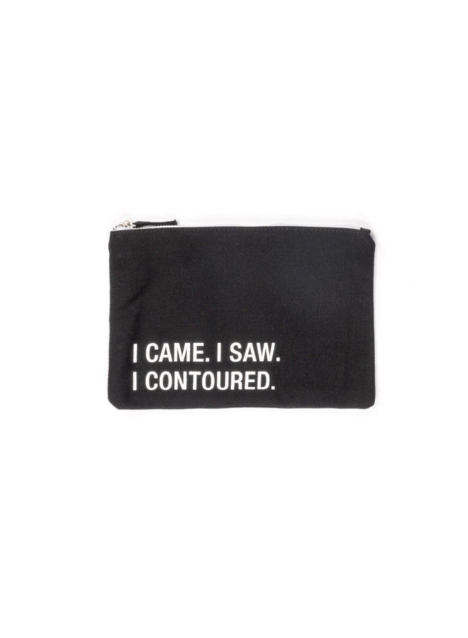 Contoured Small Cosmetic Pouch