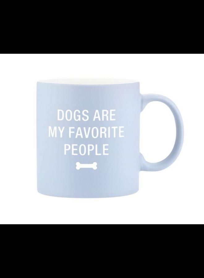 Dogs Are My Favorite Mug