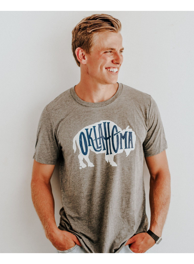 Bison Oklahoma Tshirt