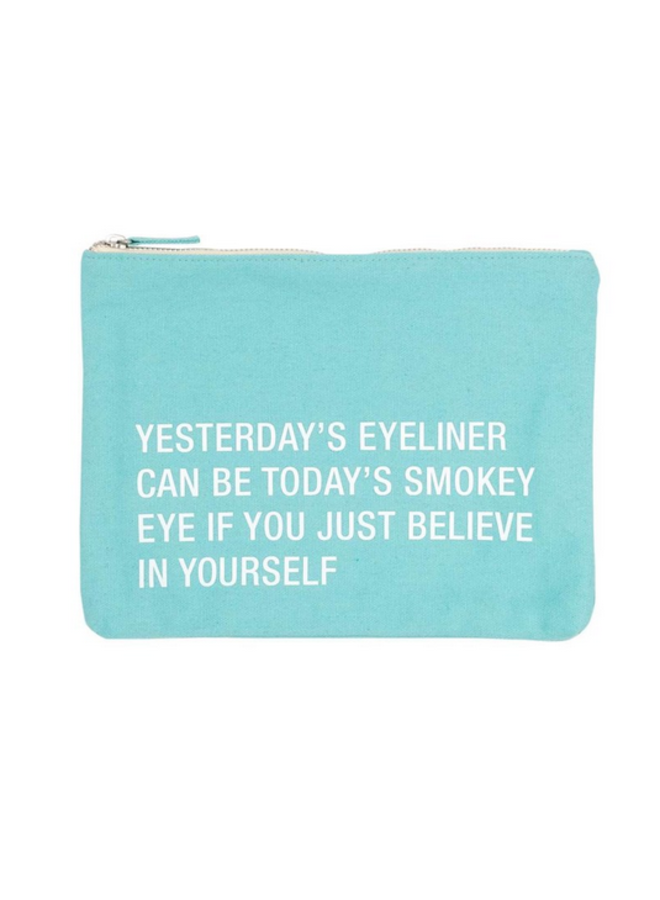 Yesterday's  Eyeliner Cosmetic Pouch