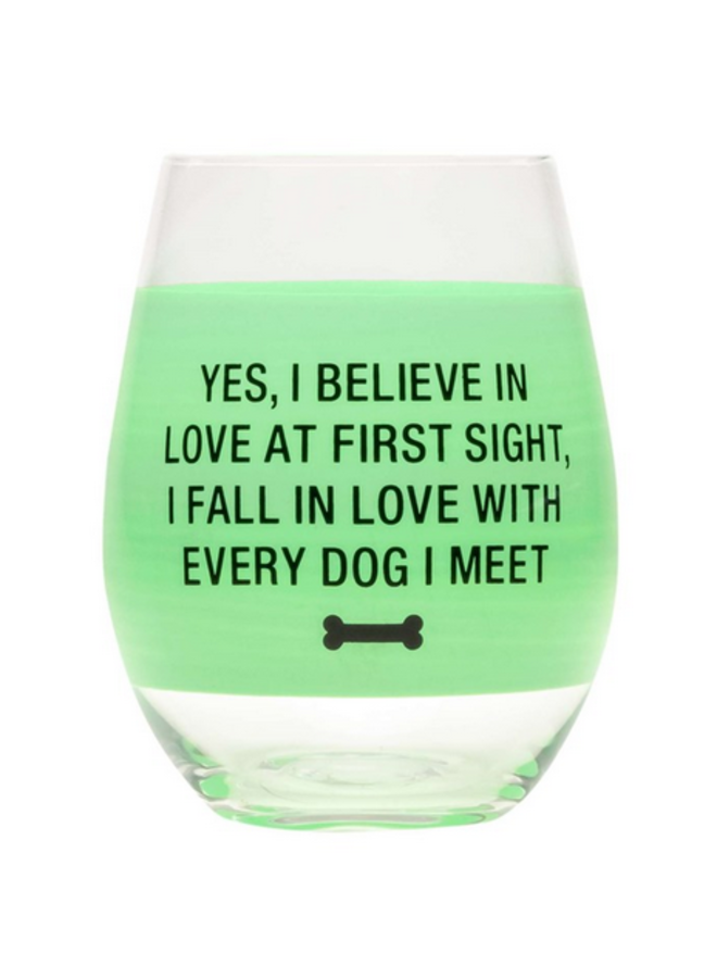 Love at First Sight Wine Glass