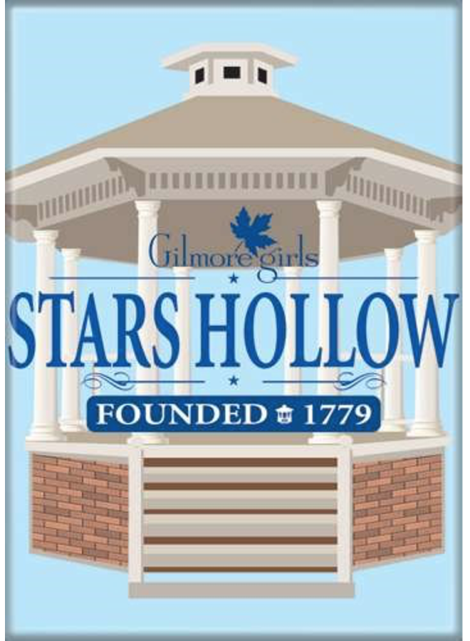 Gilmore Girls Stars Hollow Magnet
