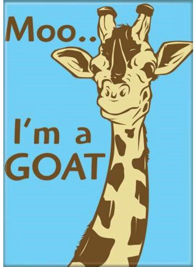 Moo I'm A Goat Magnet