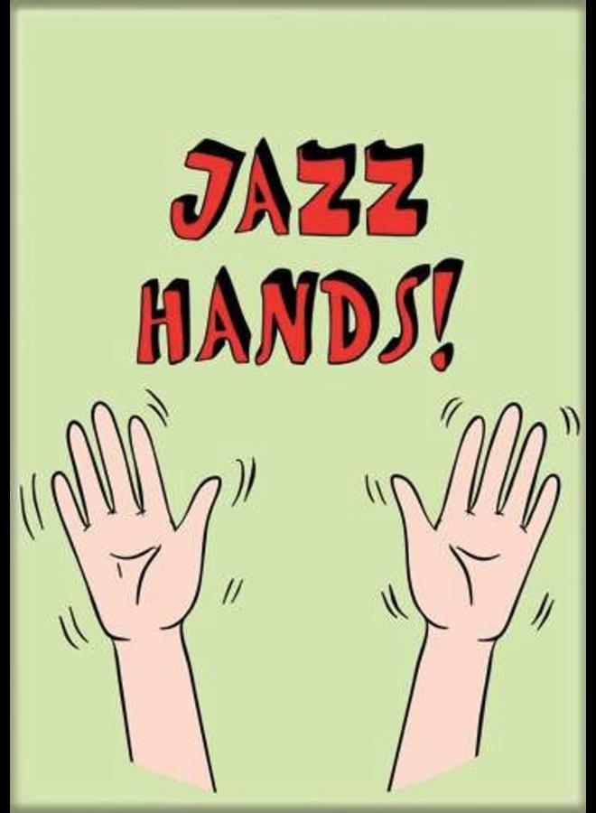 Jazz Hands Magnet