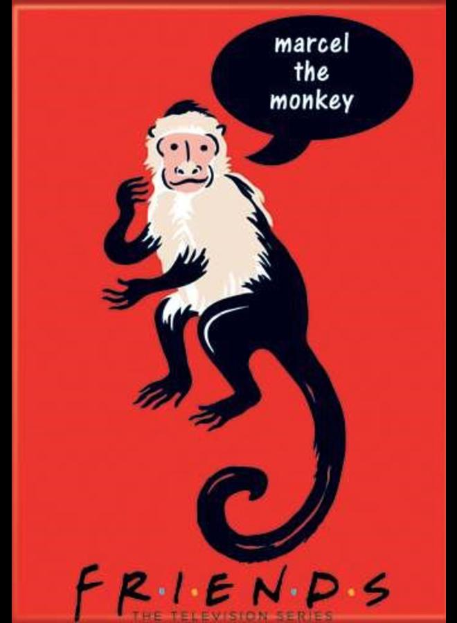 Friends Marcel The Monkey Magnet