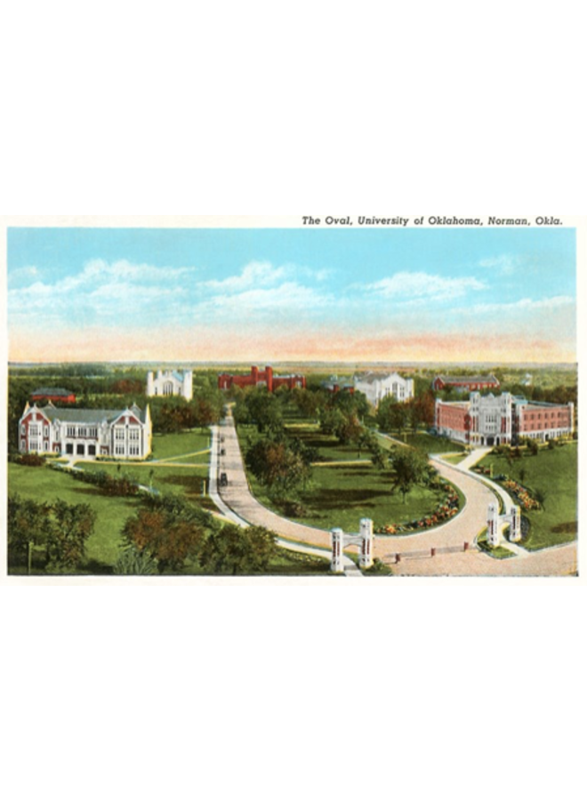 The Oval University of Oklahoma Norman Magnet