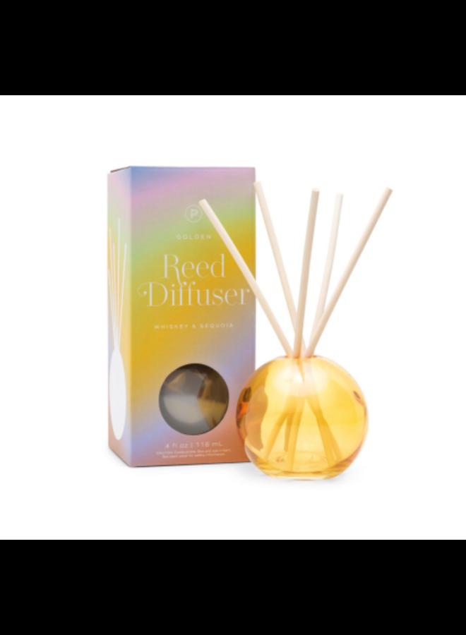 4 oz Diffuser Glass: Golden