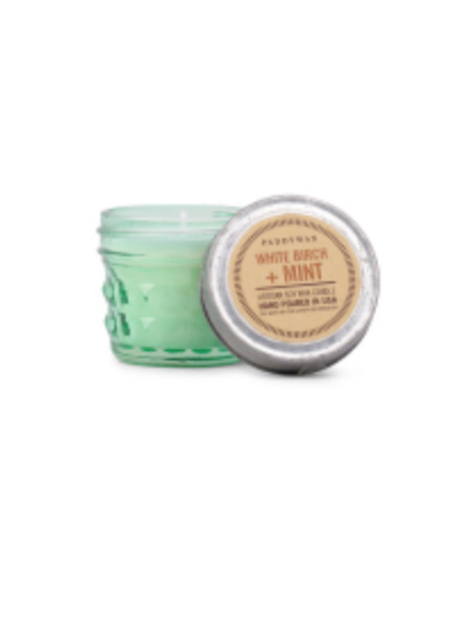 Relish Jar Candle: White Birch & Mint