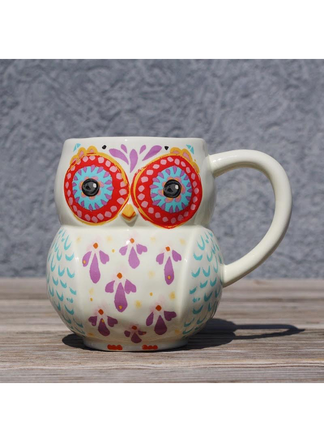 Dont Forget to be Awesome Owl Mug
