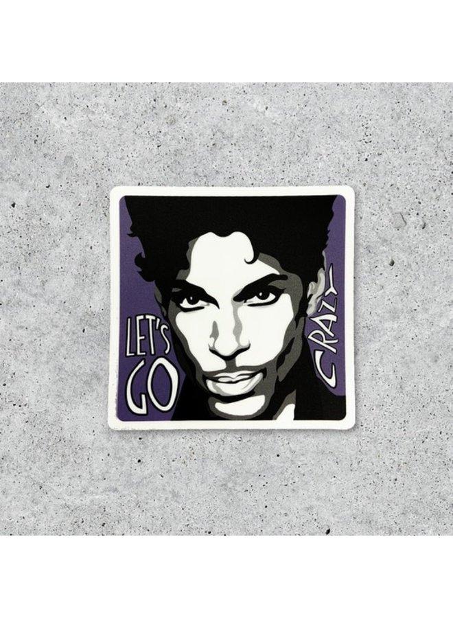 Prince Sticker- Let's Go Crazy