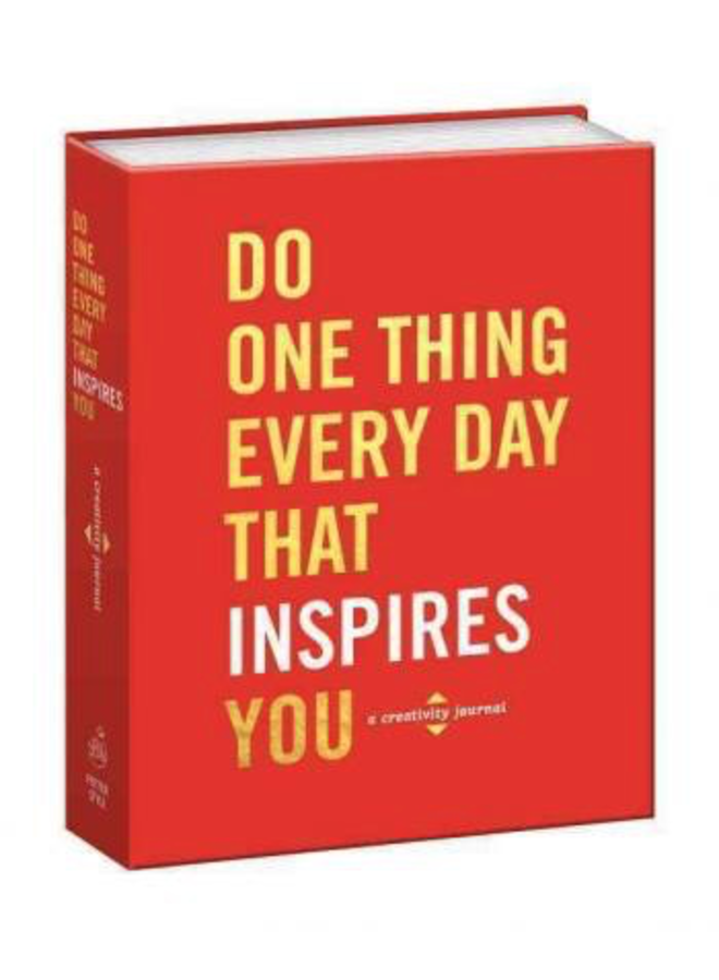 Do One Thing Every Day That Inspires You Book