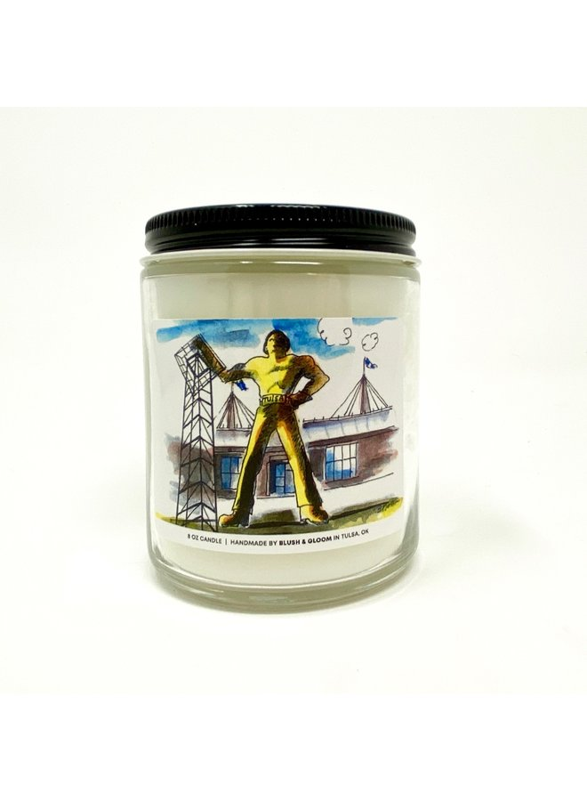 Driller Candle 8oz