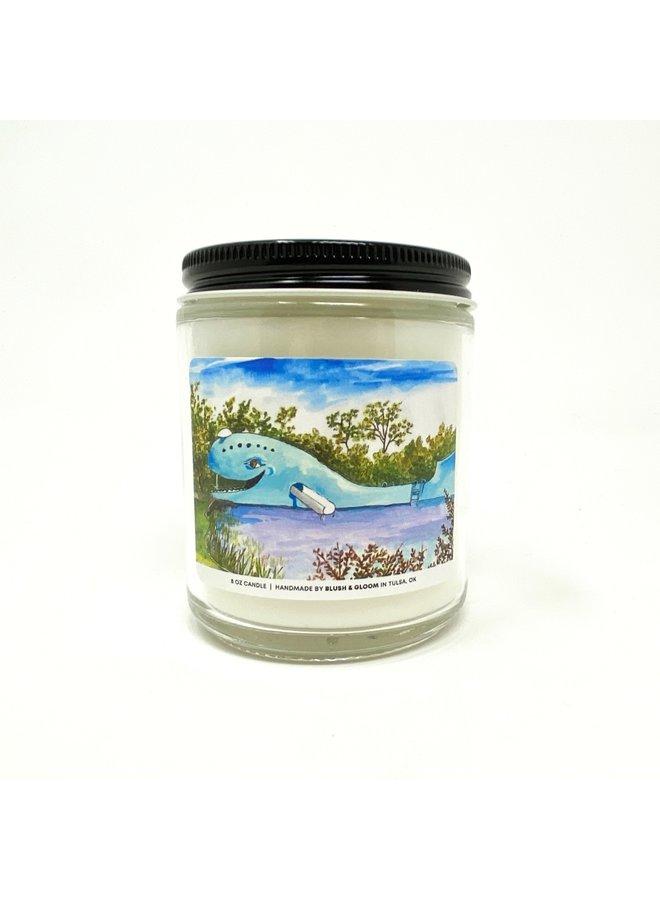 Blue Whale Candle 8oz