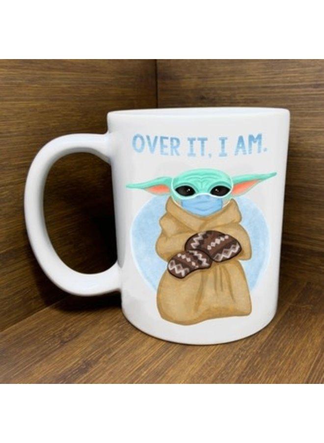 Baby Yoda Bernie Mashup Mug