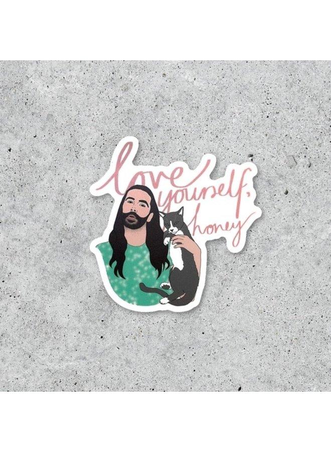 JVN Love Yourself Honey Sticker