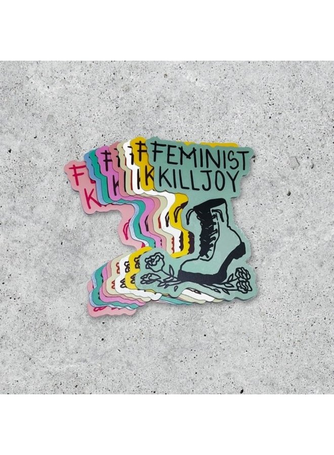 Feminist Killjoy Sticker Rainbow
