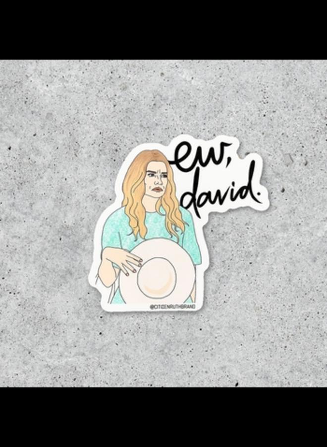 Alexis Ew David Sticker
