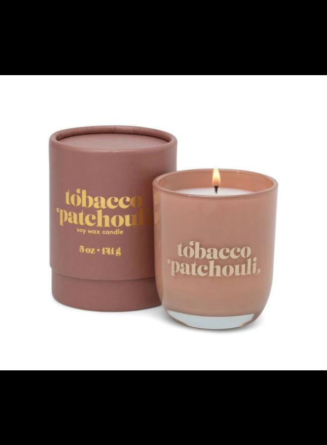 Petite 5 oz Candle: Tobacco Patchouli