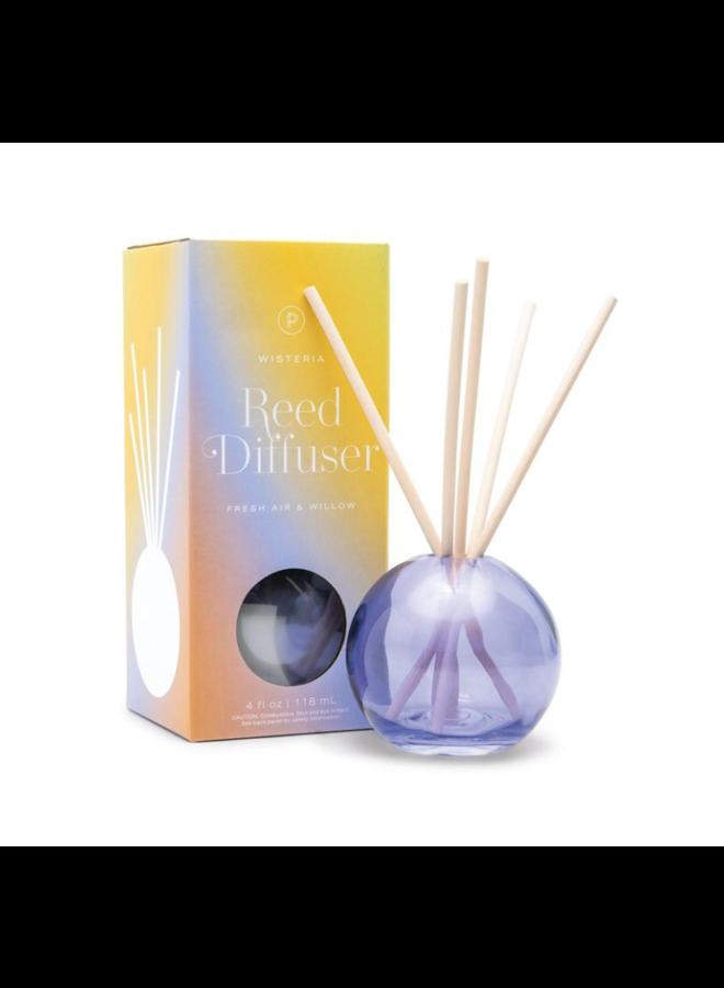4 oz Diffuser Glass: Purple Wisteria