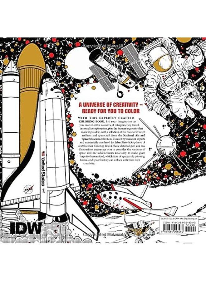 Spacecraft Smithsonian  Coloring Book
