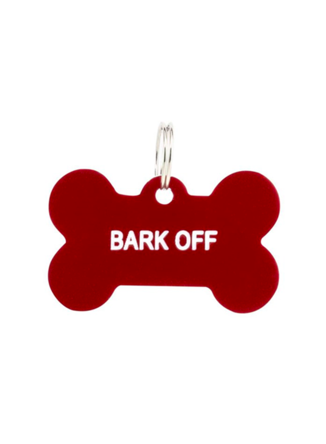 Bark Off Dog Tag