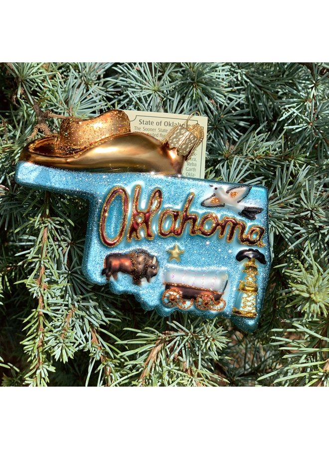 State of Oklahoma Ornament