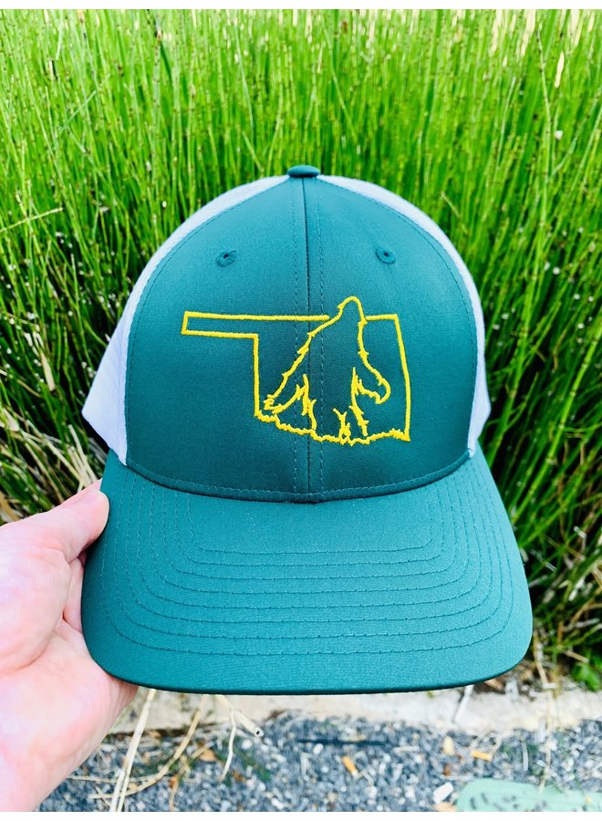 Green Bigfoot Hat
