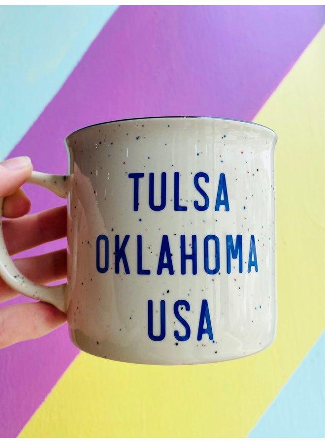 Tulsa Ok USA Mug