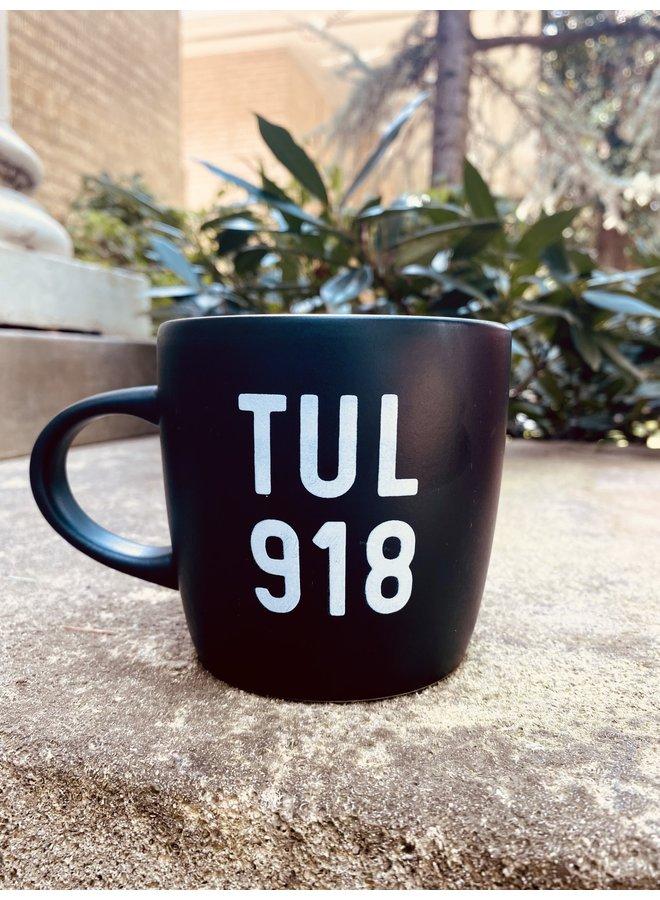 Black TUL 918 Mug